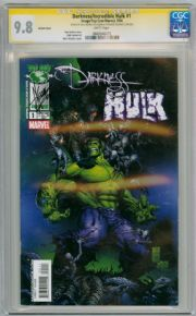 The Darkness Incredible Hulk #1 Variant CGC 9.8 Signature Series Signed Dale Keown Marvel comic book